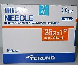 Terumo 25G x1 (0.50x25mm) 100each/Pack