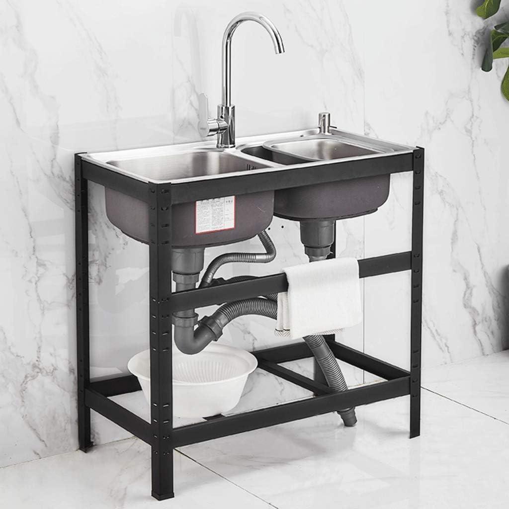 Great SALENEW very popular! interest SHENRQIA 31.9x17 Inch Kitchen Sink Black Stainless Steel Single