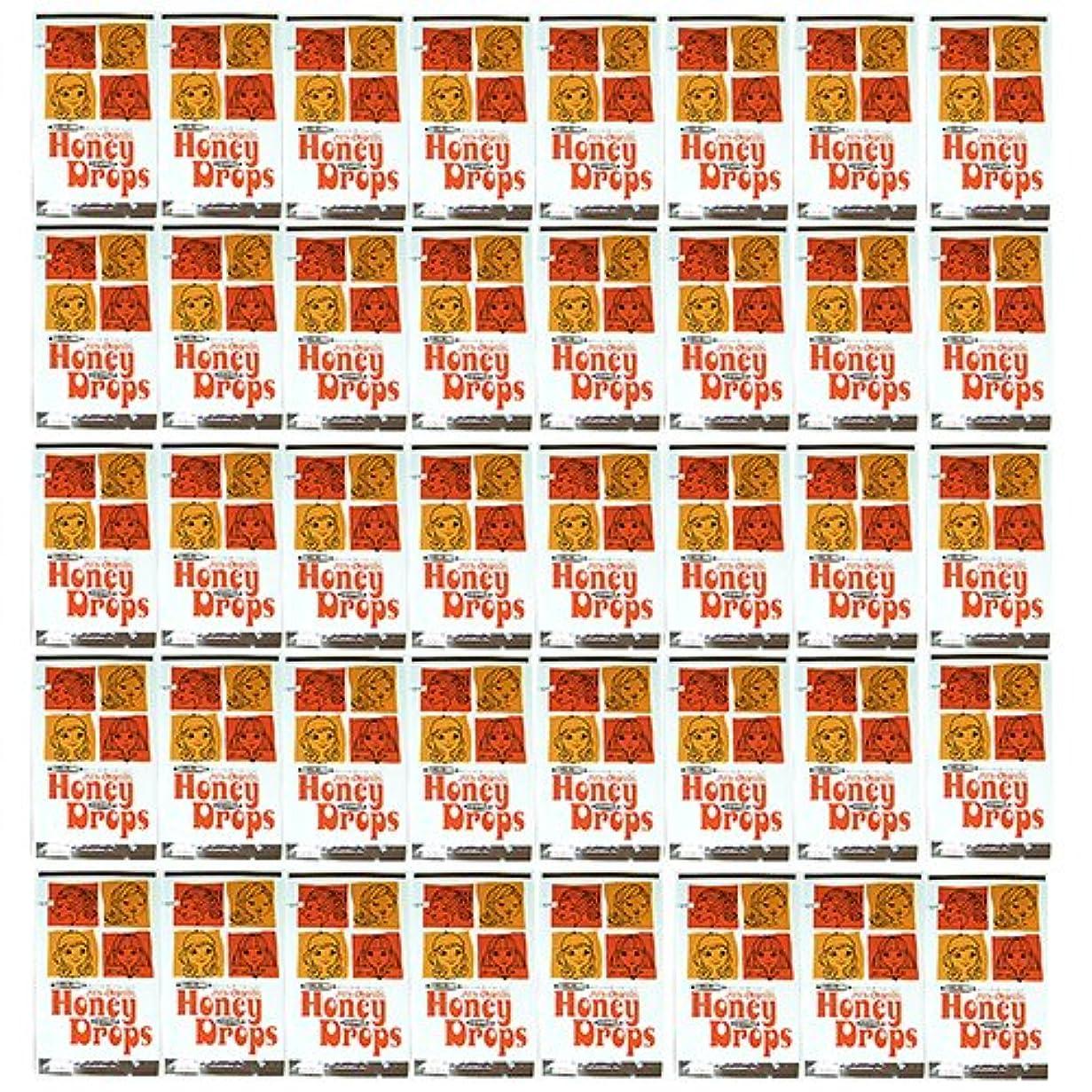 取得する感情の社会ハニードロップス(Honey Drops) 20ml 使い捨て潤滑ローション D柄 × 40個入