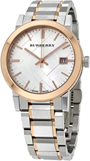 Burberry Unisex Dial Stainless Steel Band Watch