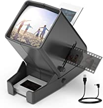 $28 » LED Lighted Illuminated Viewing for 35mm Slide and Positive Film Negatives,3X Magnification,USB Powered,Slide and Film Vie...