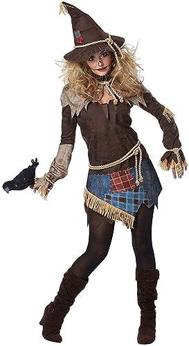 mejor oferta Creepy Scarecrow mujer mujer mujer Fancy dress costume X-Large  la mejor oferta de tienda online