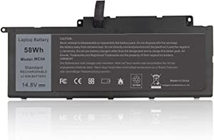 58Wh F7HVR Laptop Battery for Dell Inspiron 14 7437 Inspiron 17 7737 Inspiron 15 17 7537 7737 Series Y1FGD G4YJM 0G4YJM 62VNH 062VNH JR9TD T2T3J 89JW7 17HR-1728T 451-BBEO