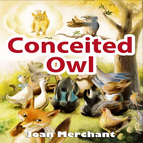 Conceited Owl audiobook cover art