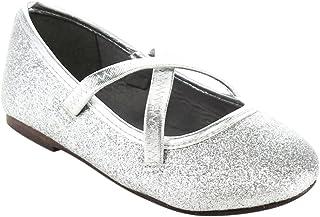 4ba4ebd6e126 JELLYBEANS Jelly Beans Ballet Toddler s Little Girl Glitter Comfort Ballet  Flat Shoes