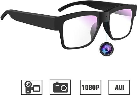f53299e3bbe1 Camera Glasses 1080P Miota Mini Video Glasses Camera Wearable Camera for  Office Outdoor Training