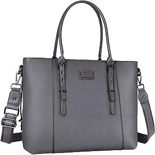 کیف پول زنانه چرمی Laptop MOSISO PU (تا 17.3 اینچ) ، خاکستری