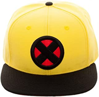 X-Men Wolverine Yellow Snapback Baseball Hat