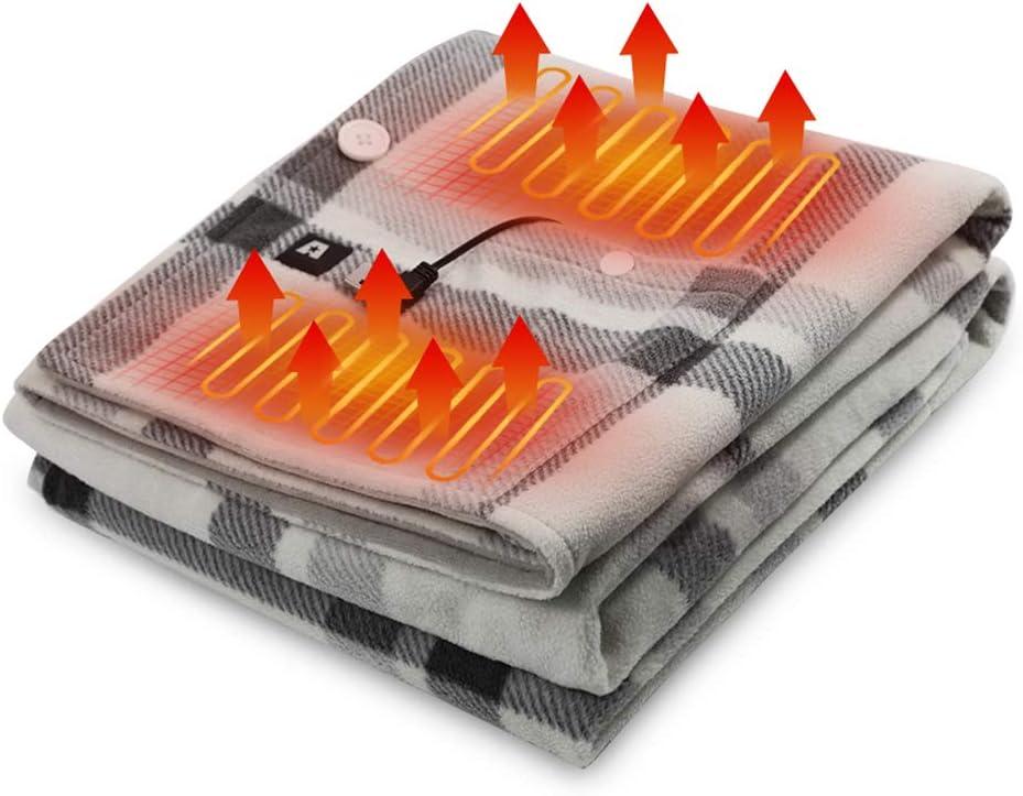 USB portable heated shawl