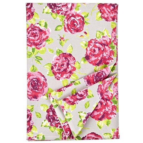 Ragged Rose Nappe rectangulaire en Coton de la Gamme Tessa, Taupe