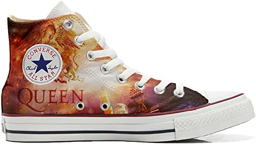 Converse All Star zapatos Personalizados Unisex (Producto Handmade) Music