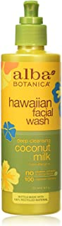 Alba Botanica Deep Cleansing Coconut Milk Facial Wash, 8 oz.