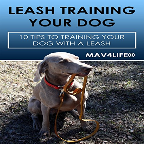 Leash Training Your Dog audiobook cover art