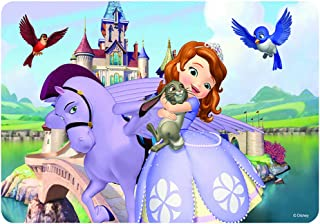 NEILDEN Disney Puzzles in a Metal Box 60 Piece Jigsaw Puzzles for Kids Ages 4-8 for Children Learning Educational Puzzles (Sofia)