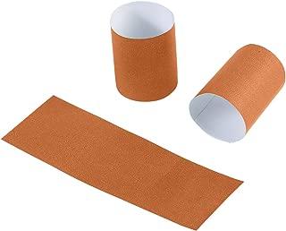 Gmark Paper Napkin Band Box of 2500 (Rust), Paper Napkin Rings self Adhesive GM1053