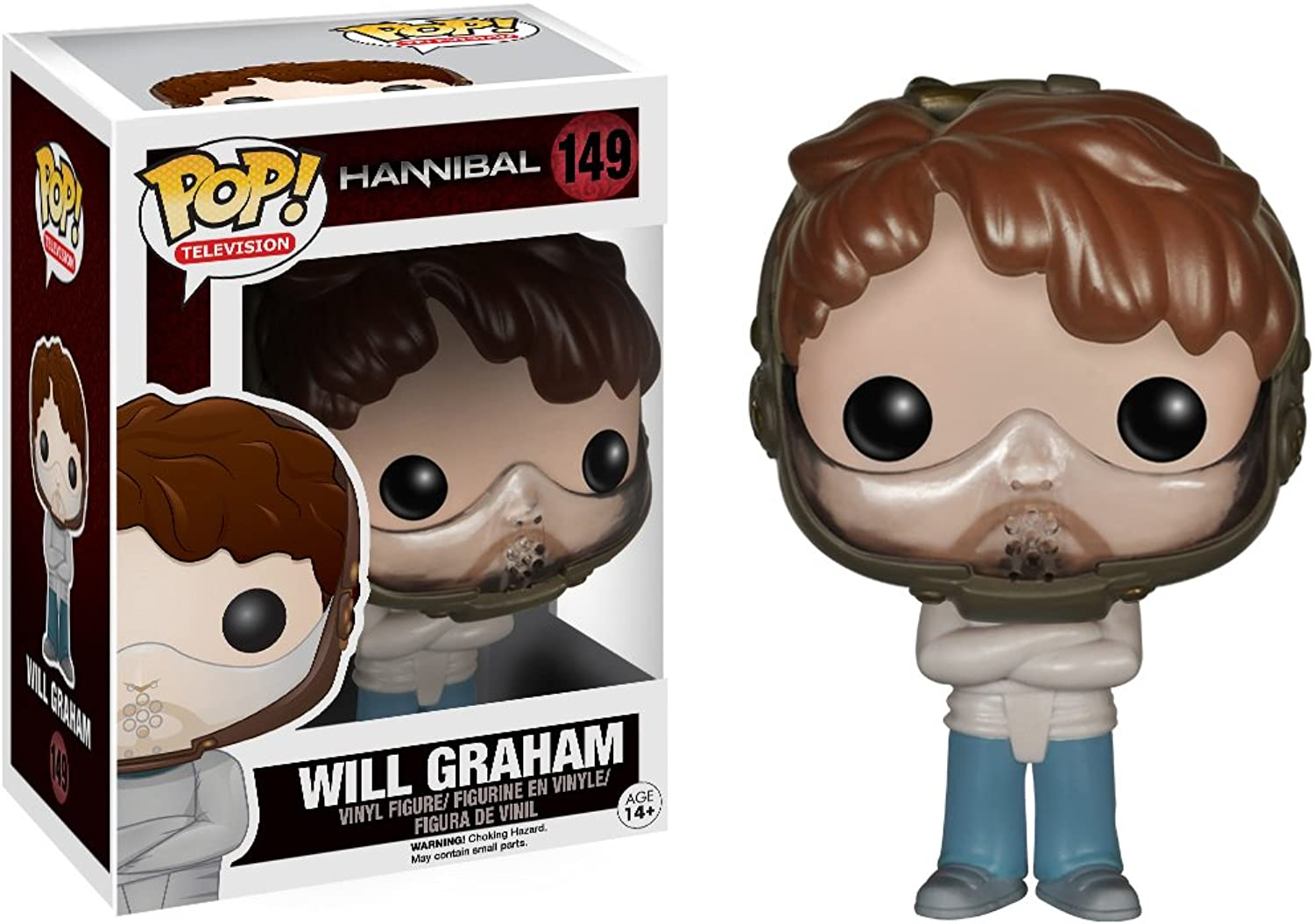 POP  Vinyl Hannibal Straight Jacket Will Graham Figure
