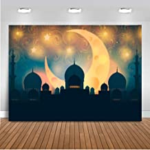 Mocsicka Arabian Nights Decorations Backdrop 7x5ft Vinyl Magic Genie Moroccan Party Background Sweet 16 Magic Aladdin`s Lamp Photography Backdrops