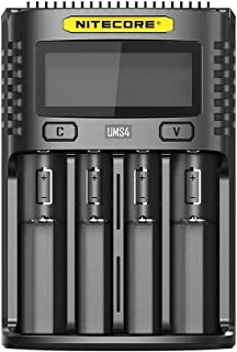 NITECORE UMS4 NITECORE UMS4 Intelligent USB Four Slot Superb Battery Charger 18650 26650,