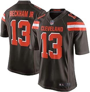 Men's #13 Odell Beckham Jr Cleveland Browns Game Jersey – Brown