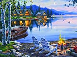 Buffalo Games - Darrell Bush - Lake Reflection - 1000 Piece Jigsaw Puzzle