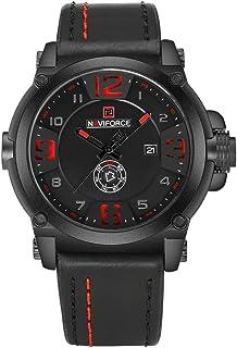 Naviforce 9099 B-R-B Analog Casual Watch For Men