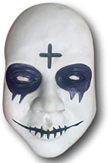 Sinless Cross Mask, Anarchy, Election, Halloween White
