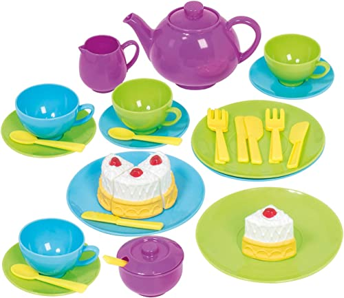 Casdon 665 Kids Tea Set,Yellow