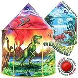 W&O Dinosaur Discovery Kids Tent with Roar Button, an Extraordinary Dinosaur...