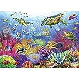 Banane - Puzzles de 1000 piezas para adultos, diseño de animal, océano, mundo de descompresión