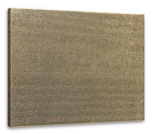 Arte & Arte 7838.0 Telaio con Tela per Pittori, Legno di Abete, Oro Metallico, 70 x 50 x 1.7 cm, Made in Italy