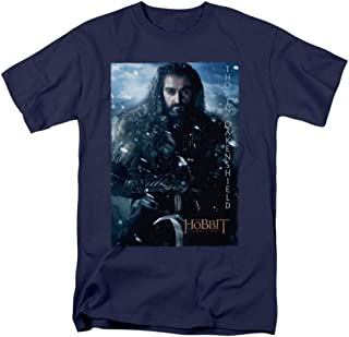 Hobbit Movie Thorin Poster Licensed Adult T-Shirt All Sizes