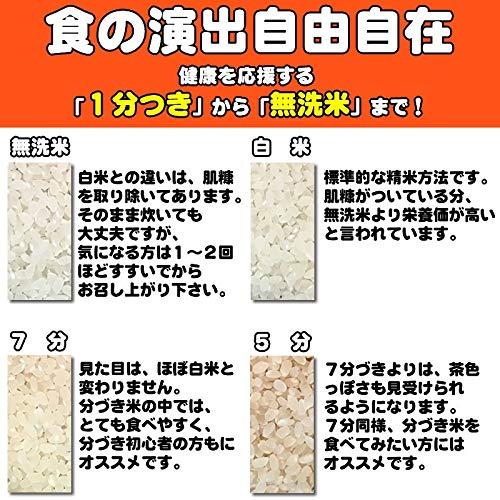 『山形県産 ひとめぼれ 30kg 紙袋 令和元年度産 (7分づき 9.3kg×3袋)』の5枚目の画像