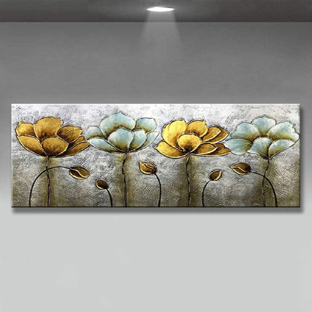 Diamond Painting Abstract Golden Lar Flower Kit Max Denver Mall 84% OFF