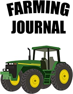 Farming Journal. A blank lined notebook for those working in agriculture.