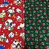 クリスマス 生地はぎれセット サンタクロース クリスマスツリー ベル 鈴 ひいらぎ 柊 パッチワーク コレクション。