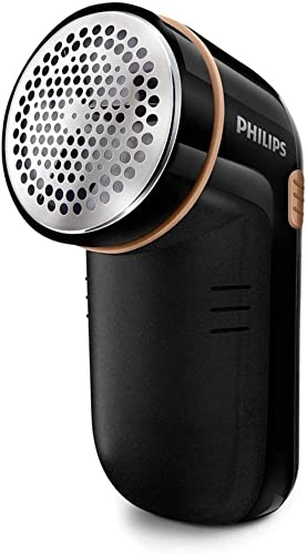 Philips Fabric Shaver for Removing Fabric Pills, Suitable for All Garments, Includes 2 Philips AA Batteries, Height A...
