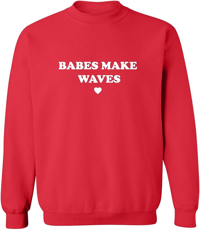 Babes Make Waves Crewneck Sweatshirt