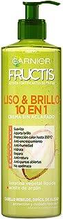 Garnier Fructis Liso & Brillo 10 en 1 Crema Sin Acla
