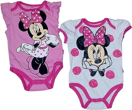 Disney Minnie Mouse Infant Dots 2Pc Creeper Set