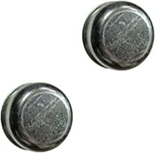 (2) Dust Cap Cup Grease Cover & Plug fits RV Camper Utility 1.98