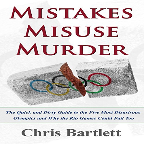 Mistakes Misuse Murder audiobook cover art