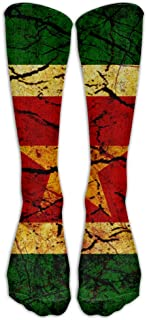 Vintage Suriname Compression Socks Football Socks Sports Stockings Long Socks