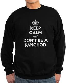 Keep Calm. Panchod. Sweatshirt (Dark) - Classic Crew Neck Sweatshirt