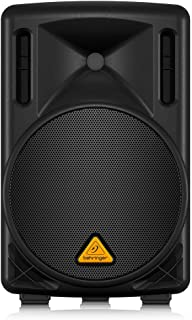 نظام مكبرات صوت بينغر يورويزن 200 واط 2 واي بي ايه مع مكبر صوت 10 انش و1.3 انش متعدد الاستخدامات - اسود