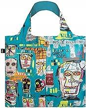 حقيبة تسوق قابلة لإعادة الاستخدام ومتحف جين ميشيل باسكيت، مقاس واحد، جمجمة من لوكي