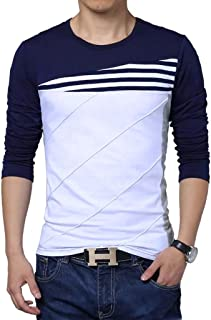 Seven Rocks Striped Panelled T-Shirt