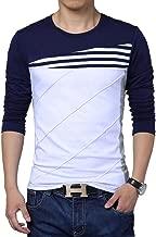 Seven Rocks Striped Panelled T-Shirt