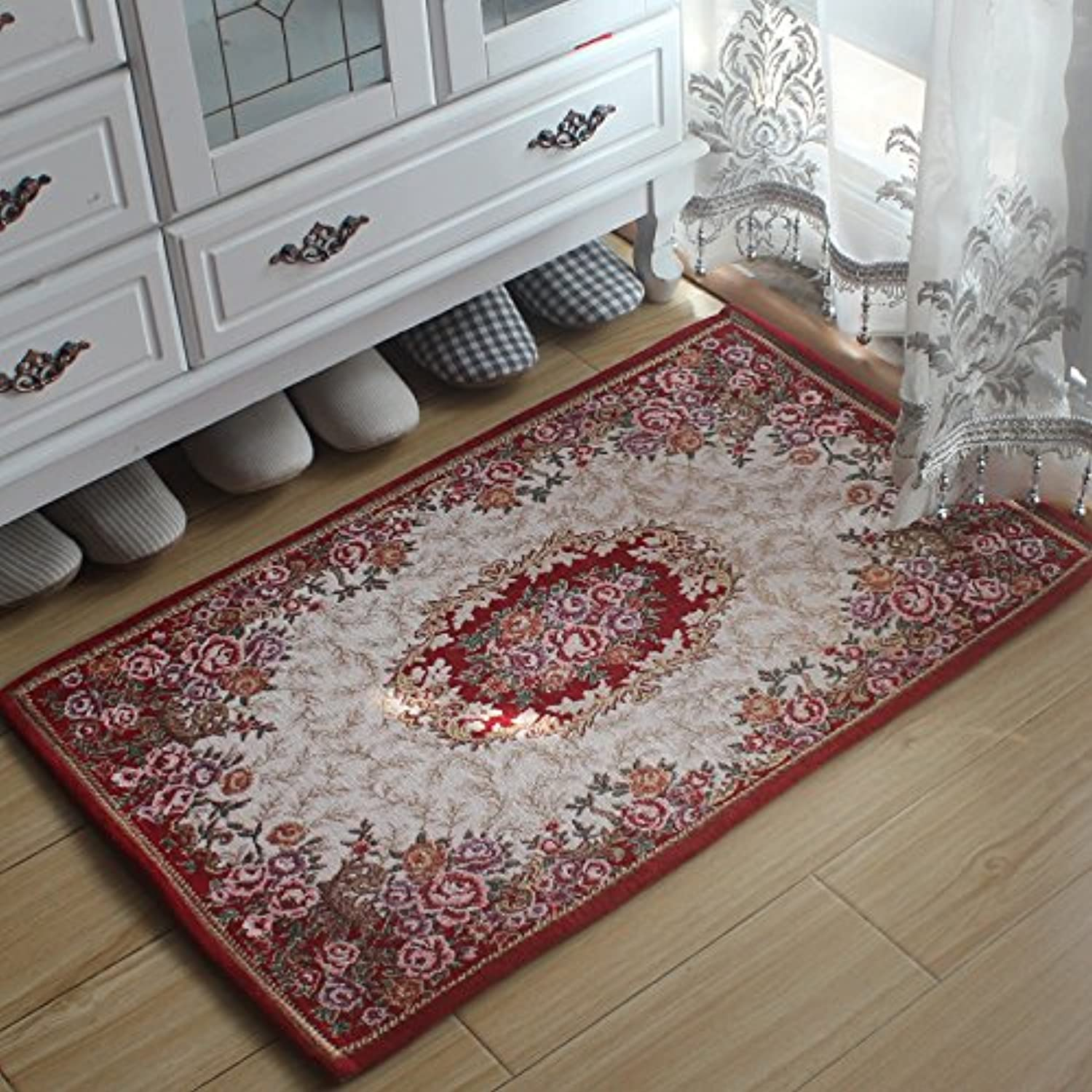 JinYiDian'Shop-Continental Mats Door Mat Feet Bedroom Living Room To Absorb Water ,4060Cm,O