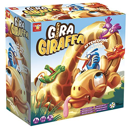 Rocco Giocattoli- Gira Giraffa, Multicolore, 30125I