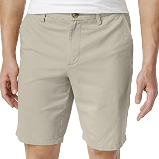 Club Room Men's Cotton Chino Shorts in Stonewall